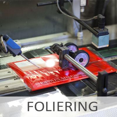 Foliering - Bech Distribution A/S
