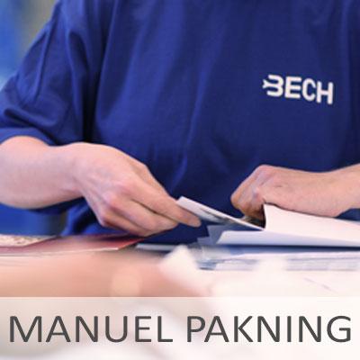 Manuel pakning - Bech Distribution A/S