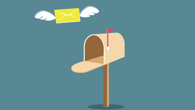 Fysisk post er psykisk anderledes